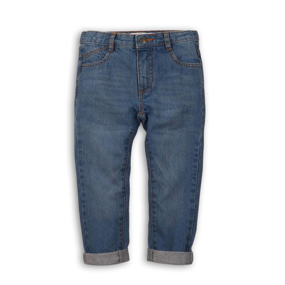 Pantaloni denim tip blug Minoti School M318L005