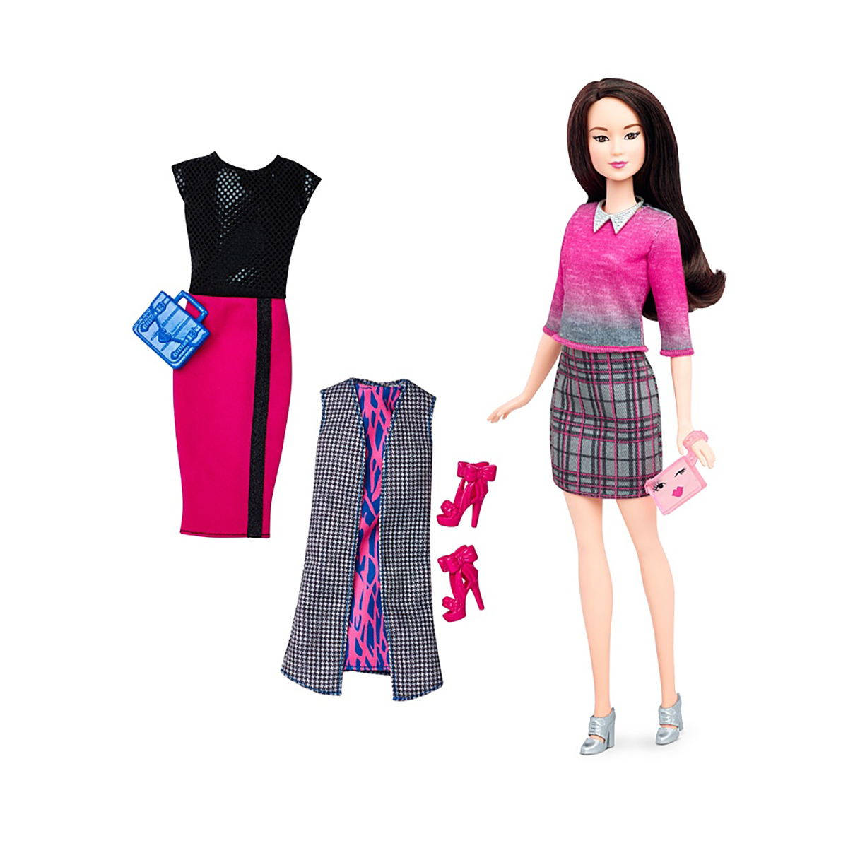 papusa barbie fashionistas - chic with a wink