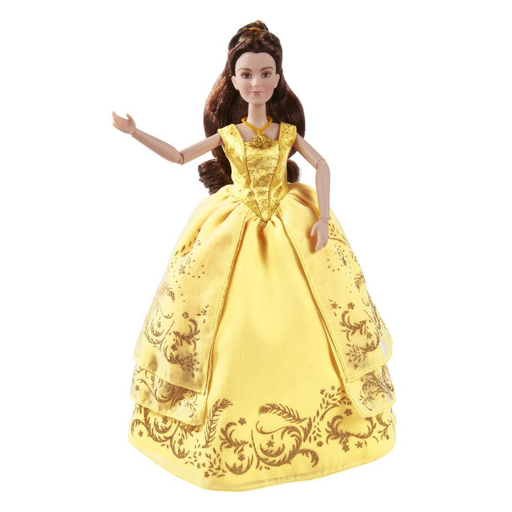 papusa disney princess - beauty and the beast - belle