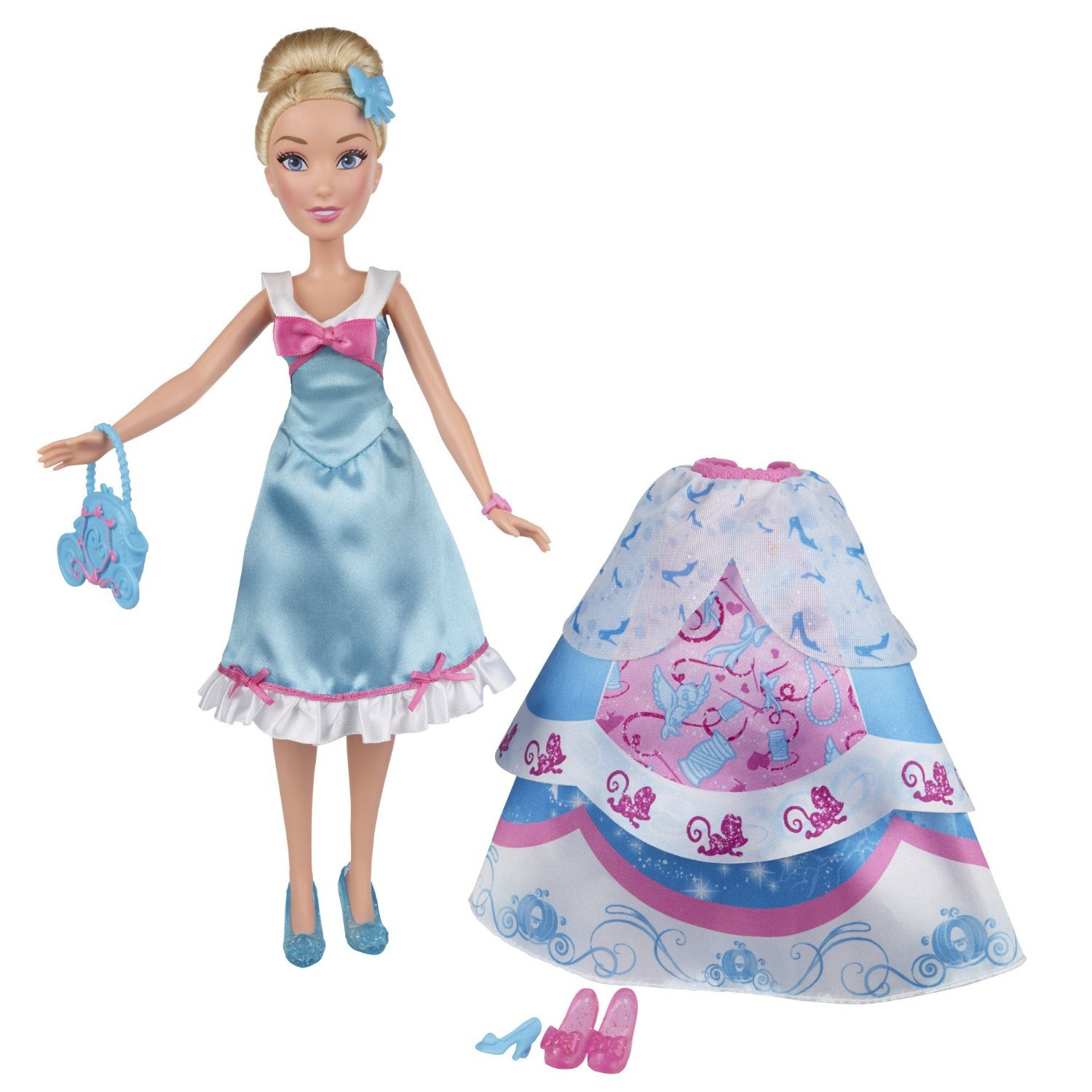 papusa disney princess cu rochita fashion - cenusareasa