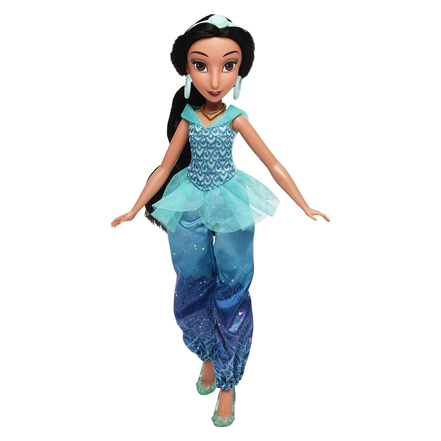 papusa disney princess royal shimmer - jasmine