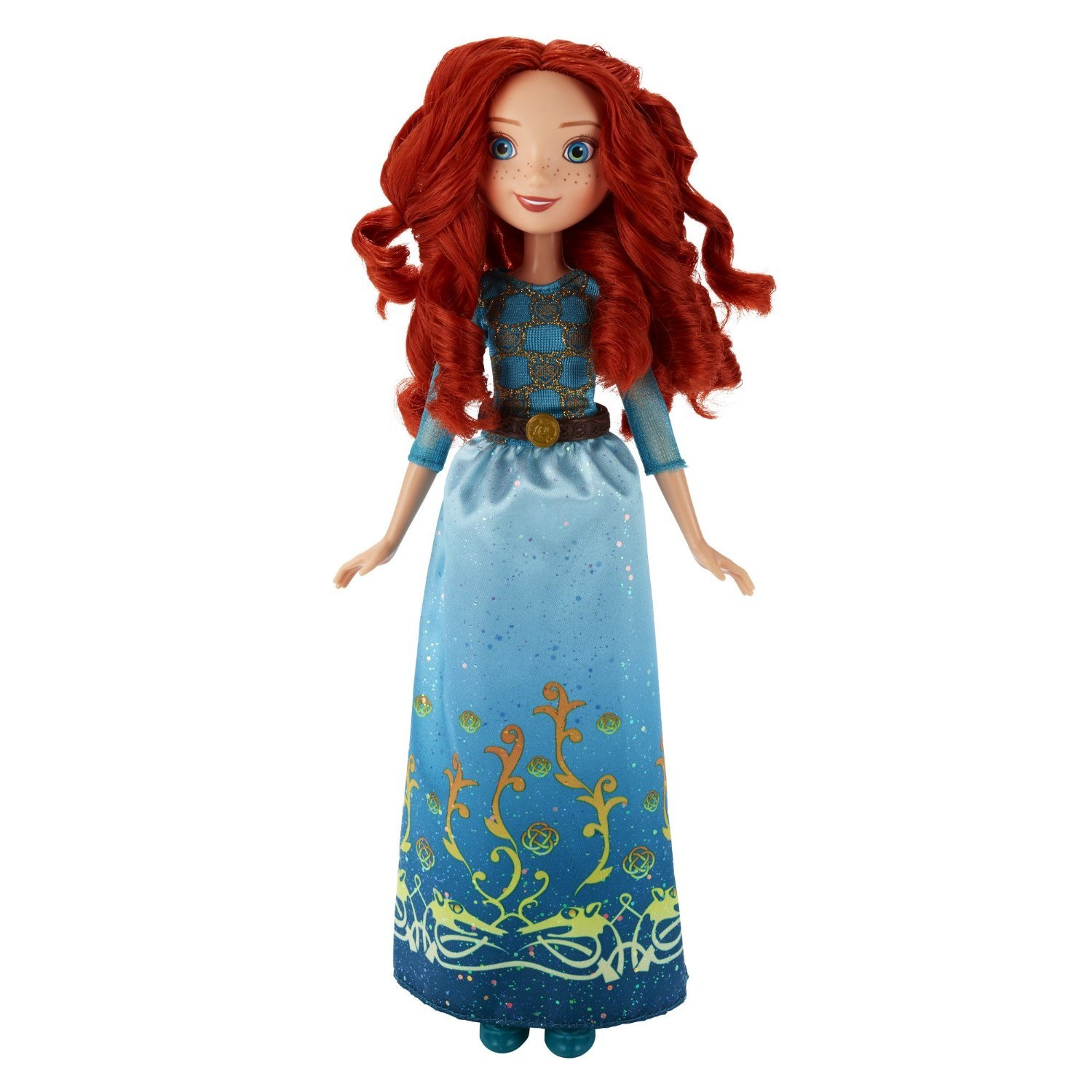 papusa disney princess royal shimmer - merida