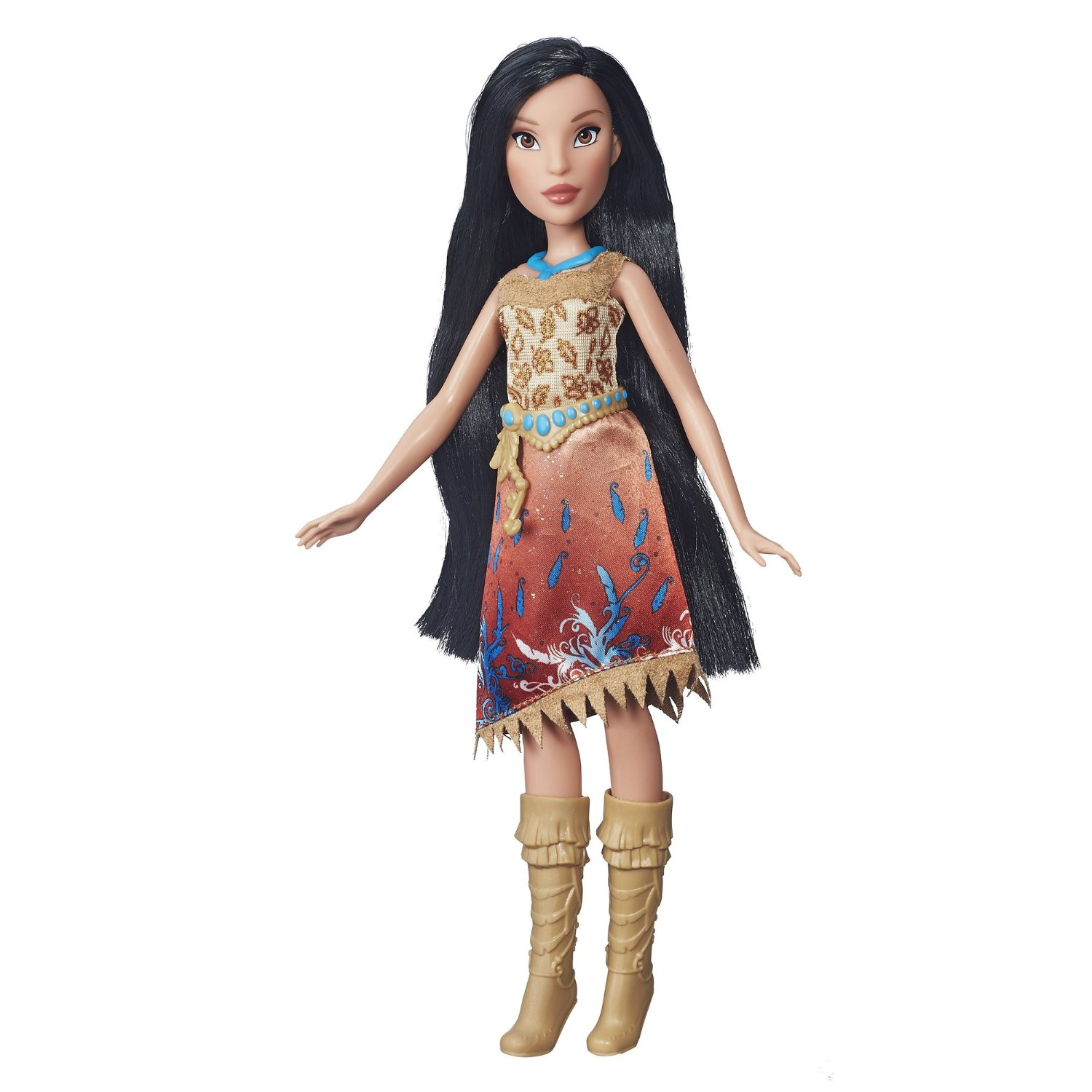 papusa disney princess royal shimmer - pocahontas