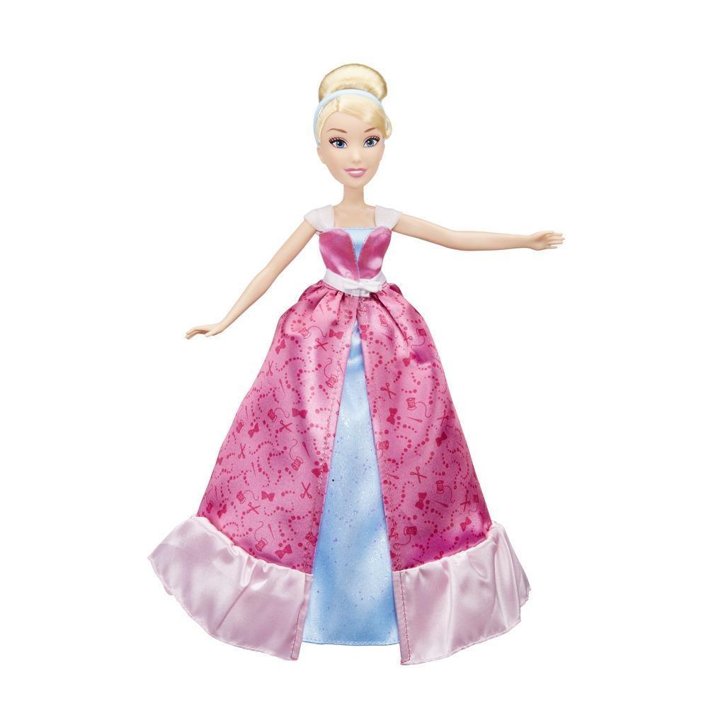 papusa disney princess - transformarea magica a cenusaresei