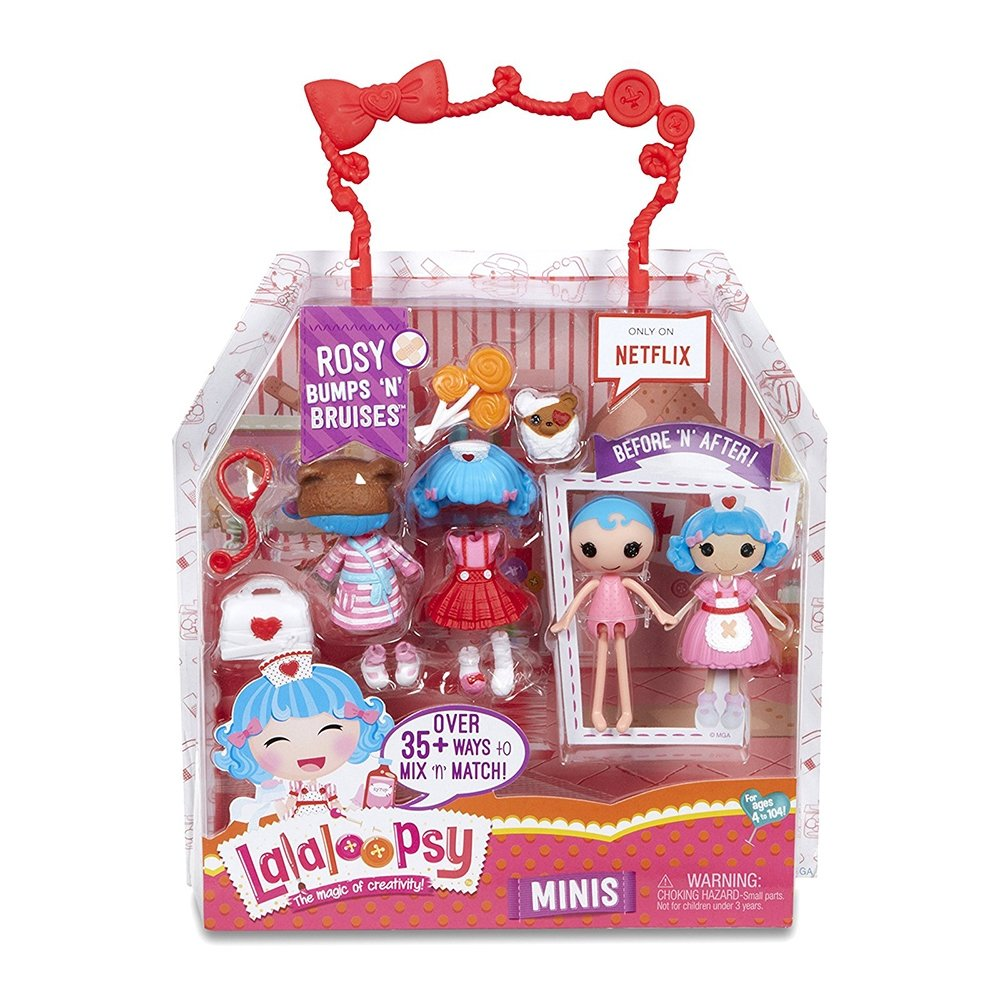 papusa lalaloopsy minis the magic of creativity - rosy bumps n bruises