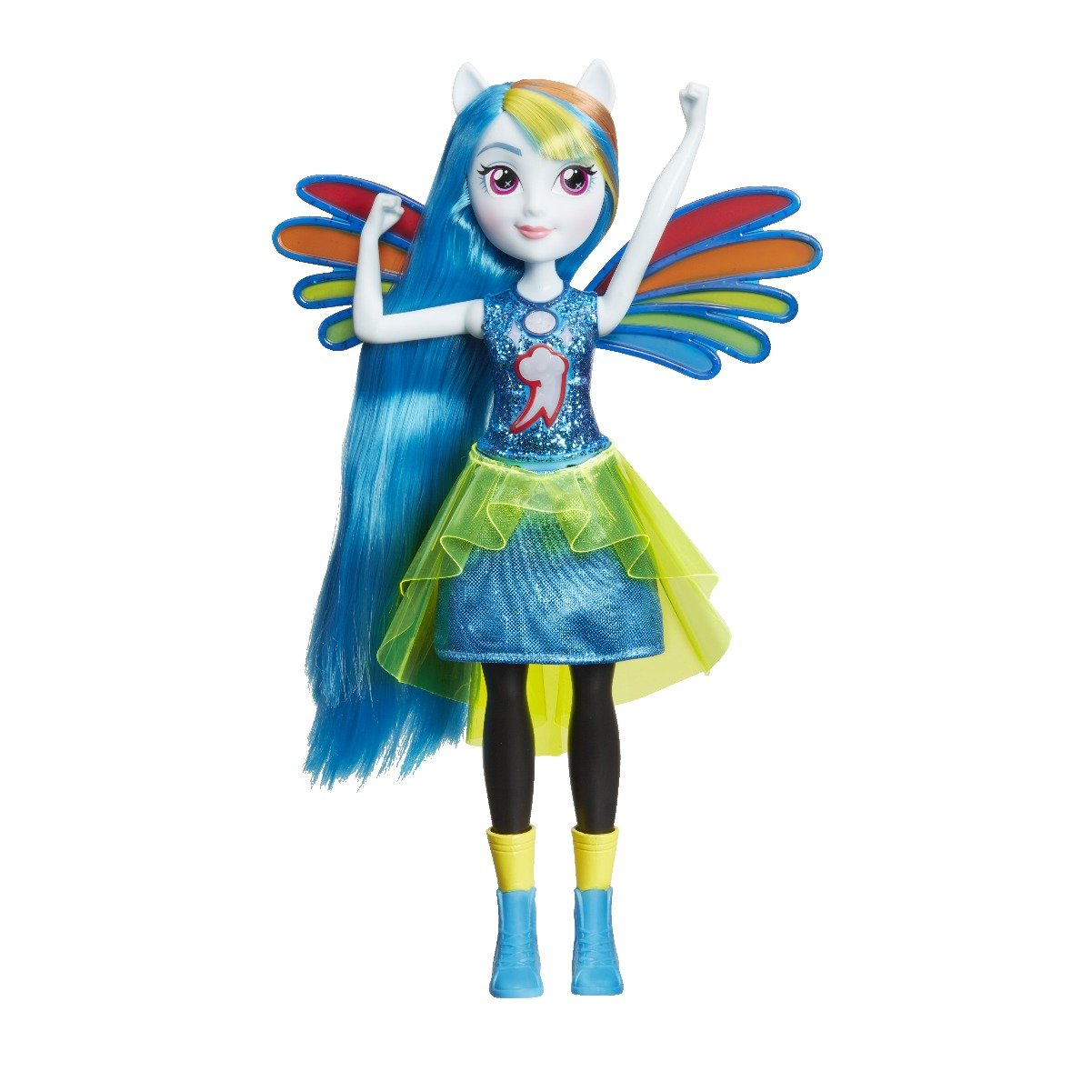 Papusa Power Up, My Little Pony Equestria Girls - Rainbow Dash