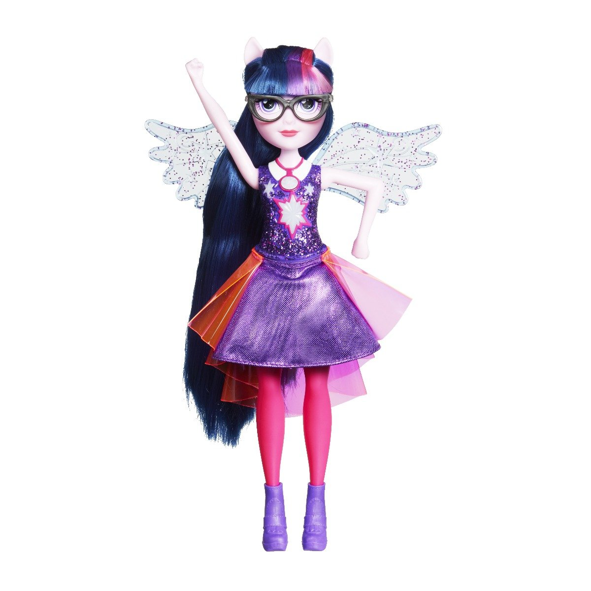 Papusa Power Up, My Little Pony Equestria Girls - Twilight Sparkle