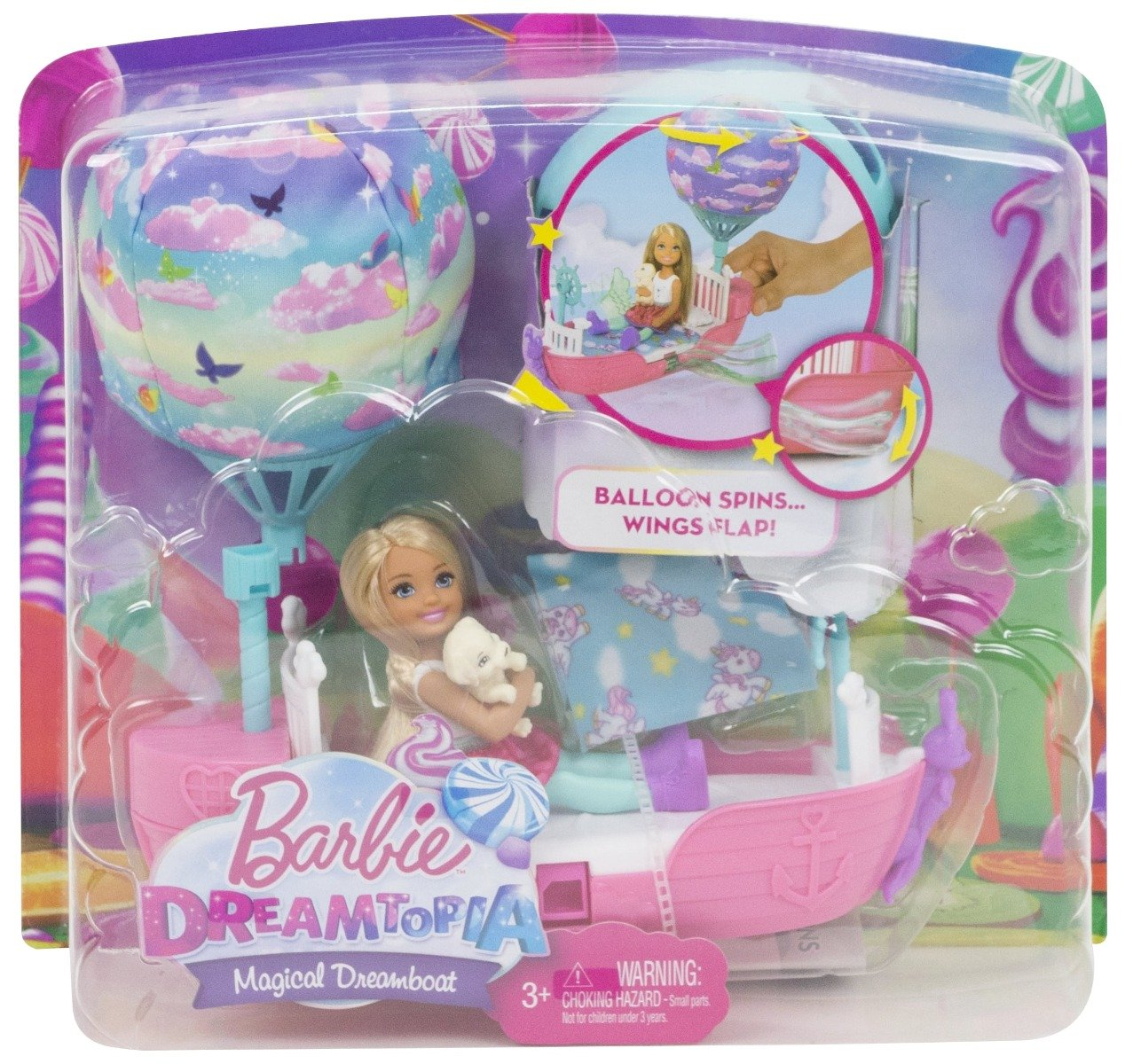 Papusa Barbie Dreamtopia printesa, DWP59