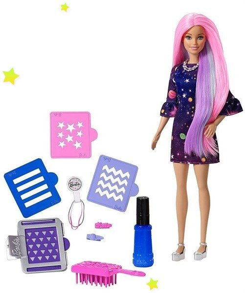 papusa barbie color surprise