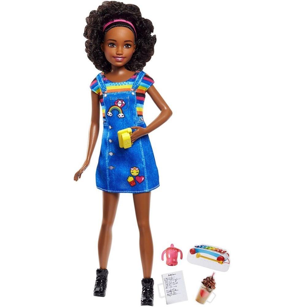 Papusa Barbie Skipper Babysitter Mulatra