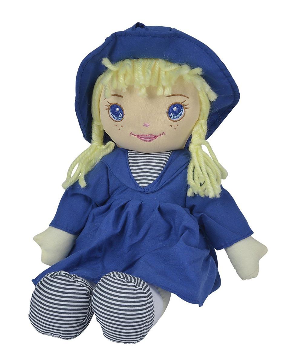 papusa de catifea my love dolly simba, albastru inchis