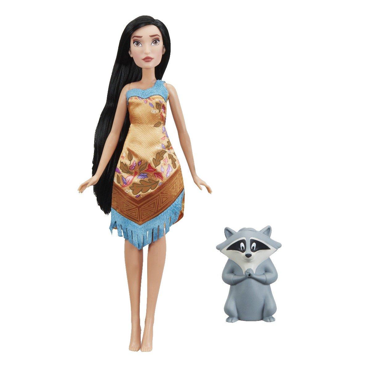 Papusa Pocahontas si Meeko Disney Princess, tematica acvatica