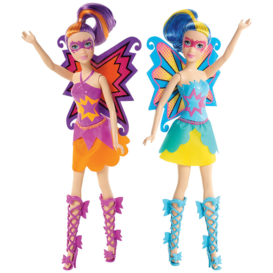 papusi barbie princess power - maddy & abby
