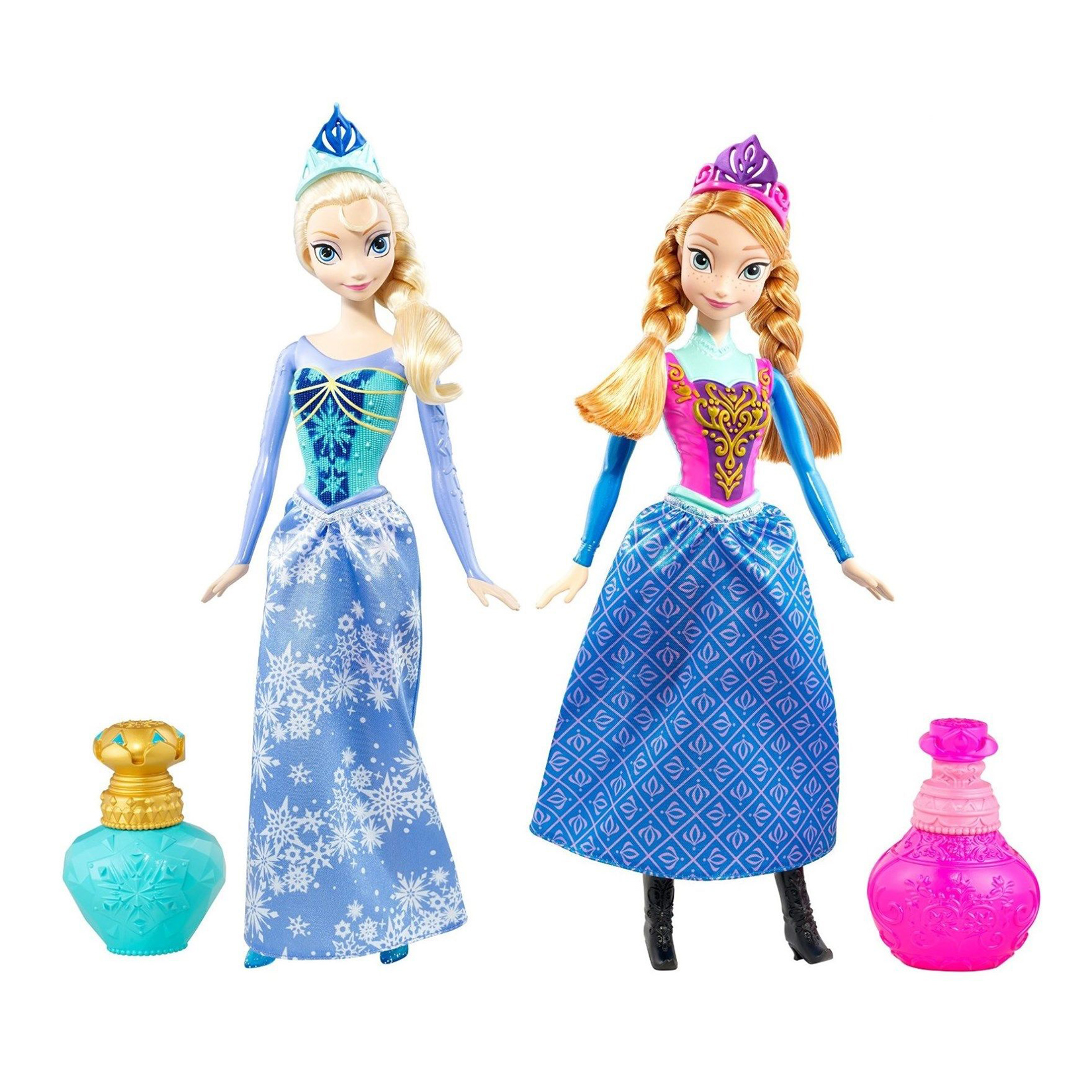 papusi disney frozen - royal color anna si elsa