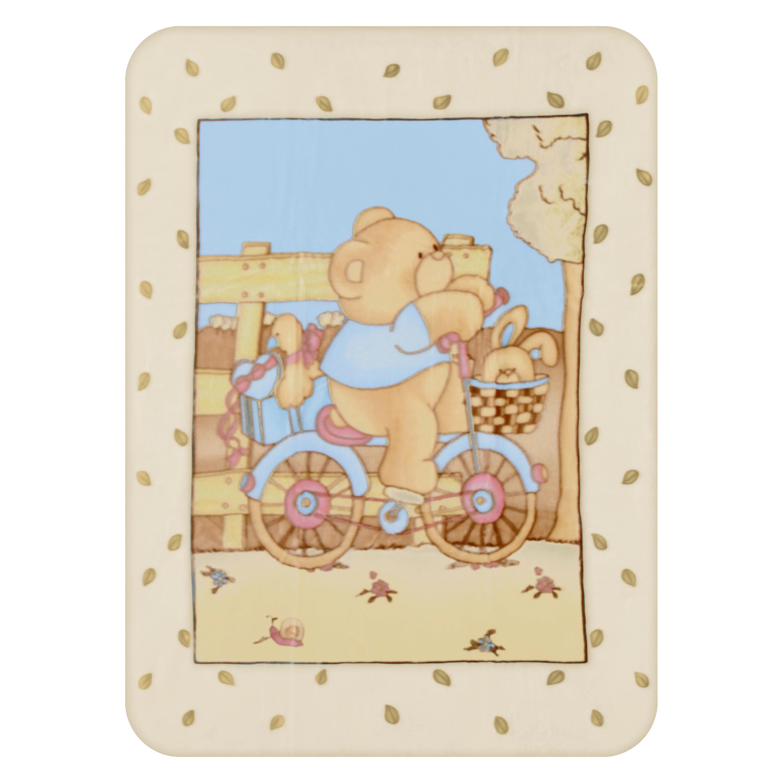 paturica bebe lorelli classic beige