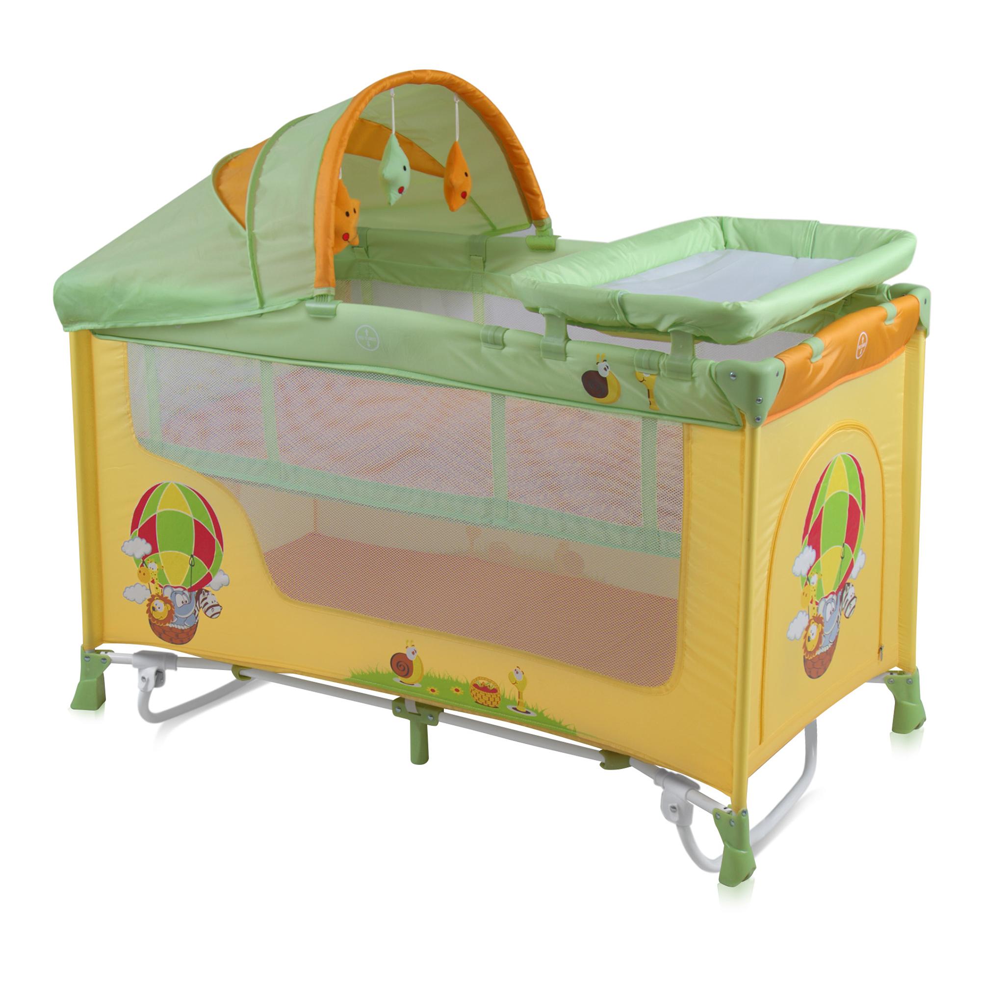 patut bebe lorelli classic nanny 2 plus rocker - multicolor ballon
