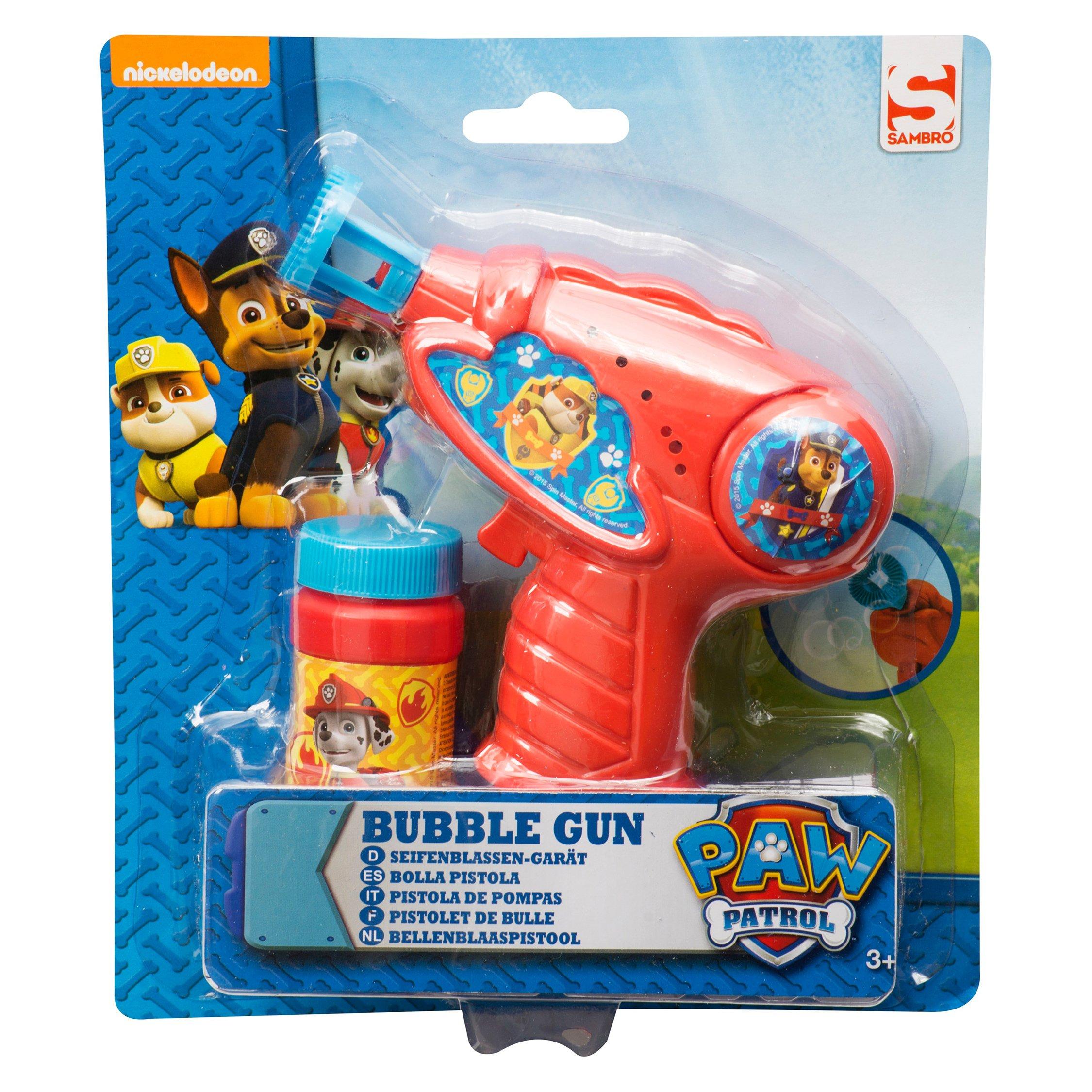 paw patrol - pistol baloane de sapun