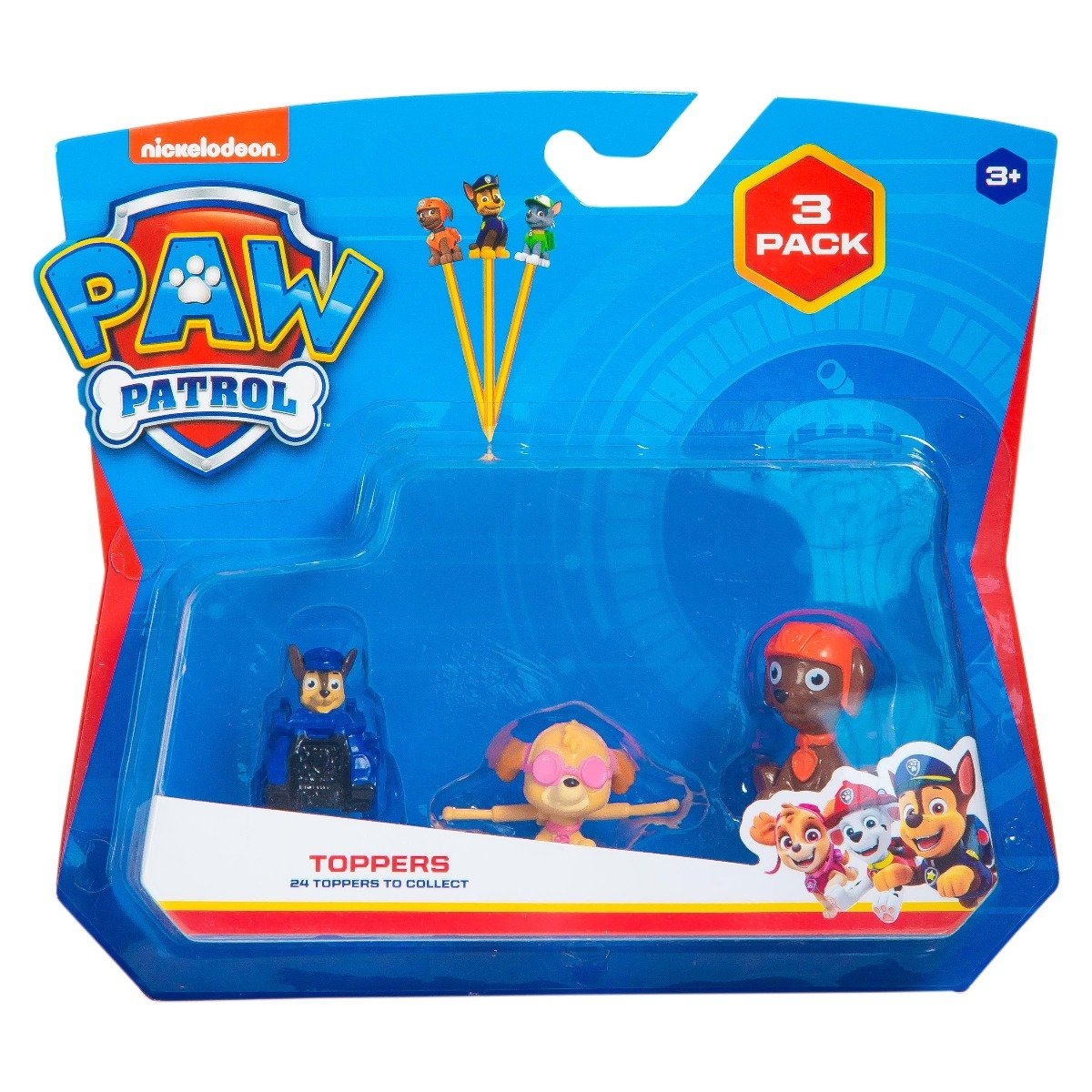 Set 3 figurine Paw Patrol Pencil Toppers, S1