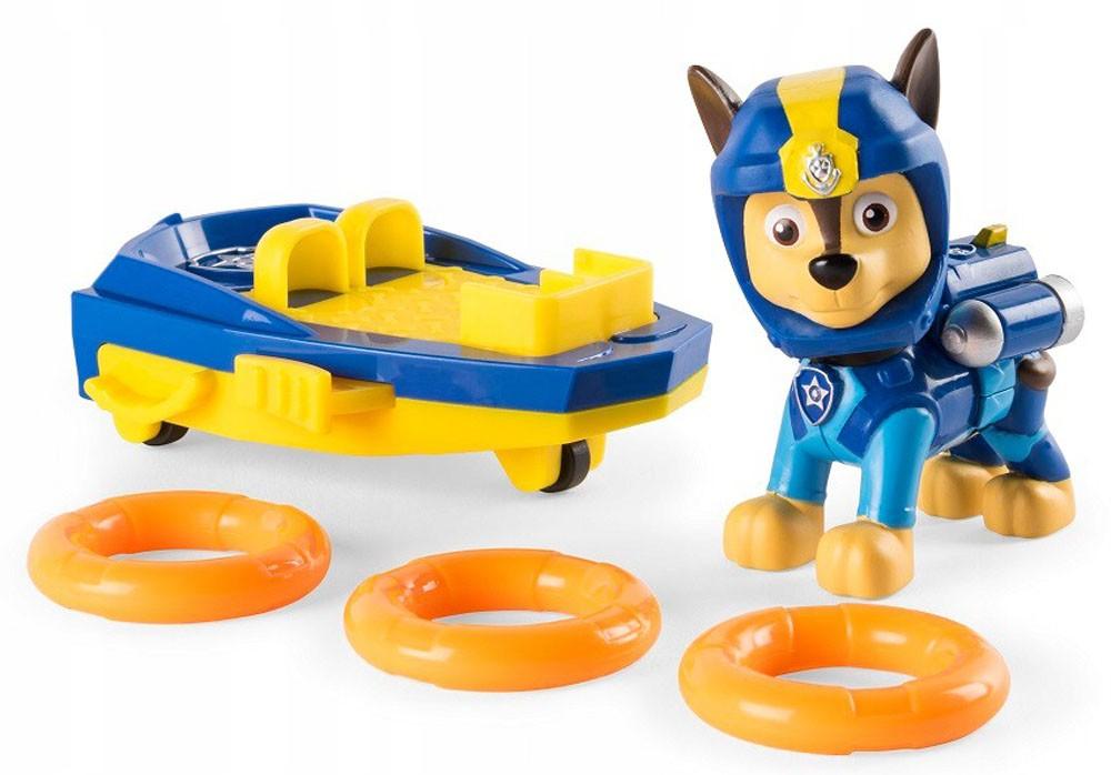 Paw Patrol - Figurina Sea Patrol Chase Surfboard