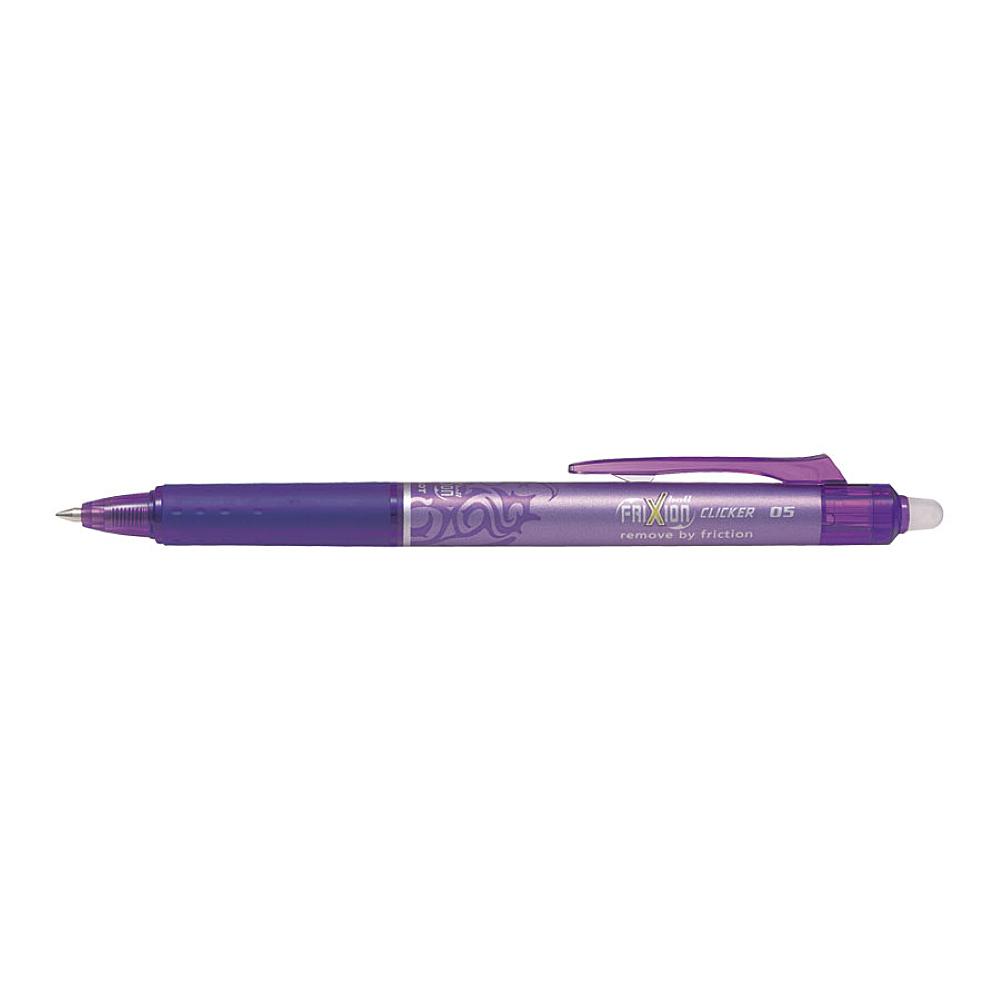 Pix Roller Pilot Frixion Clicker, 0.5 mm, violet