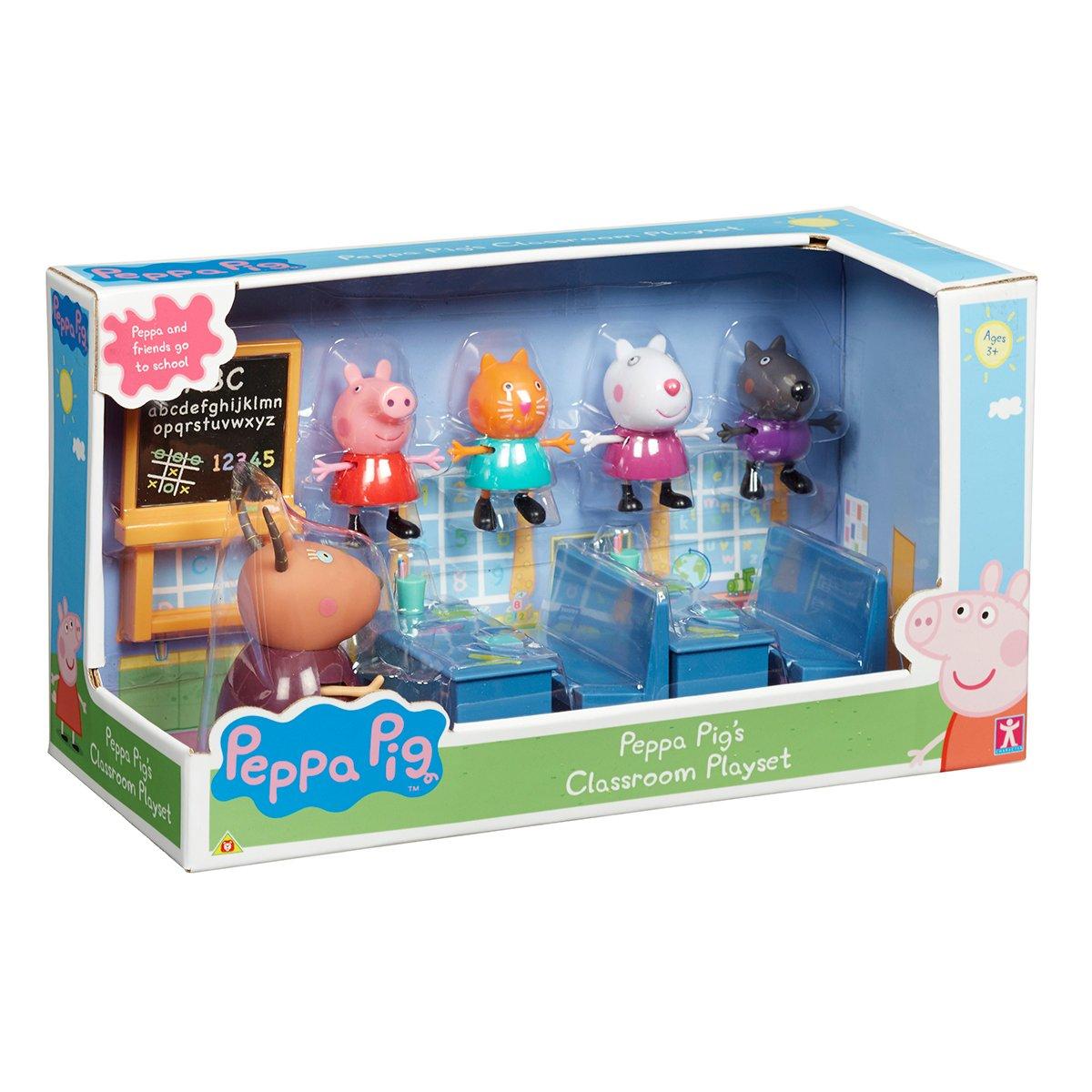 Set figurine Peppa Pig, Classroom