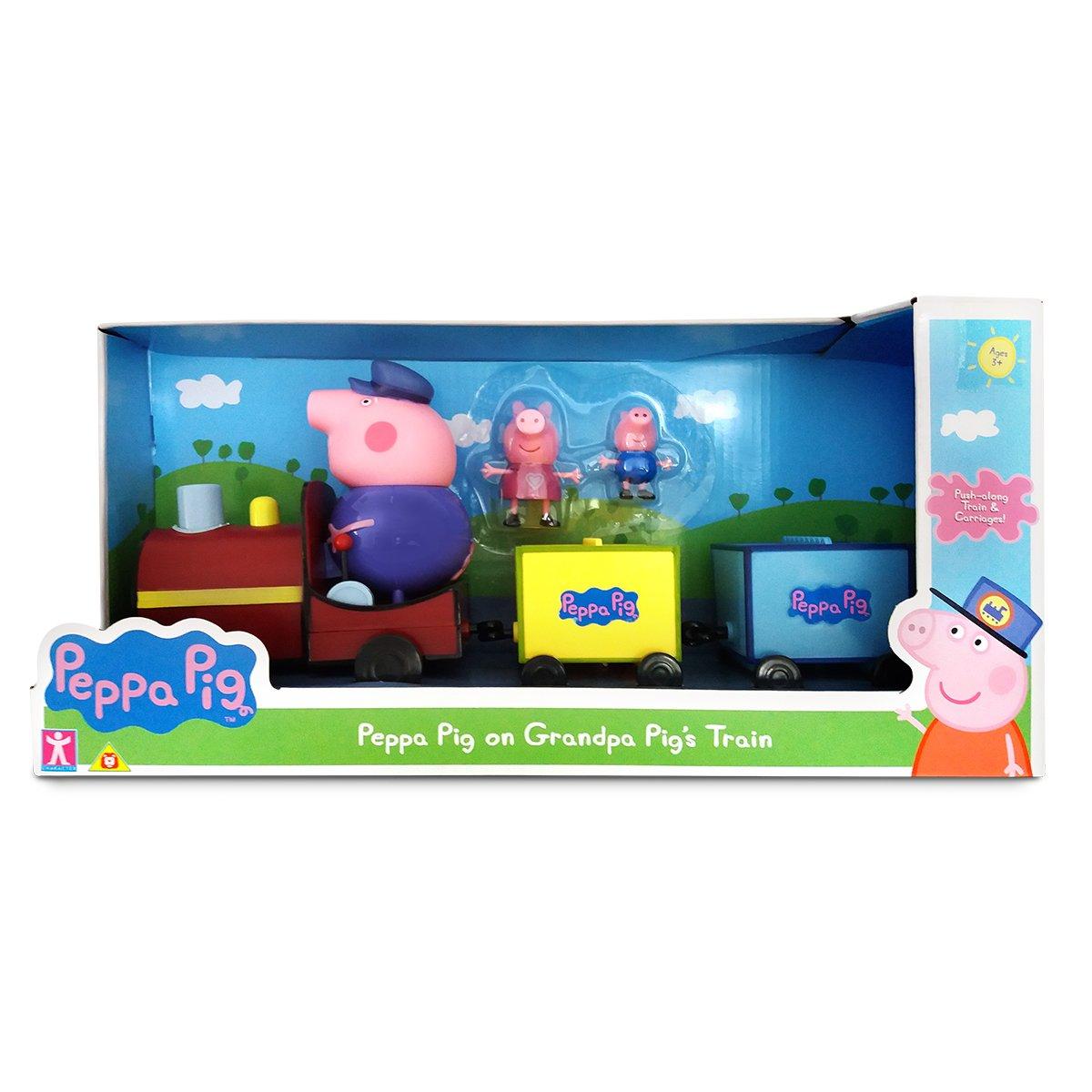 Set figurine Peppa Pig, Trenuletul lui Grandpa Pig