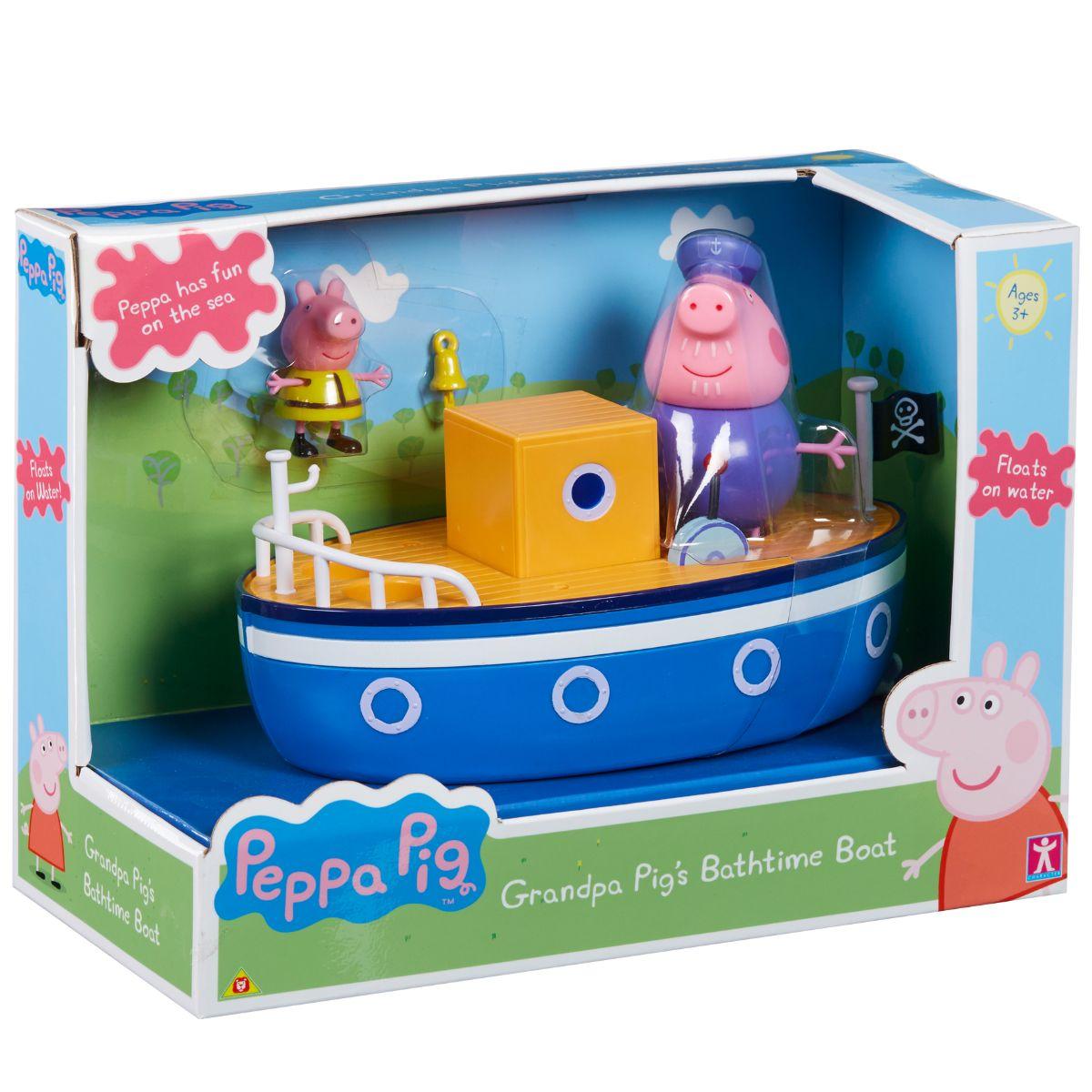 Barca, Peppa Pig, Grandpa Pig's Bathtime Boat