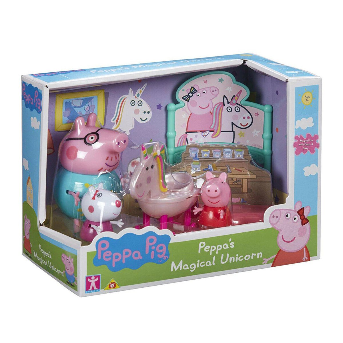 Set figurine Peppa Pig, Magical unicorn