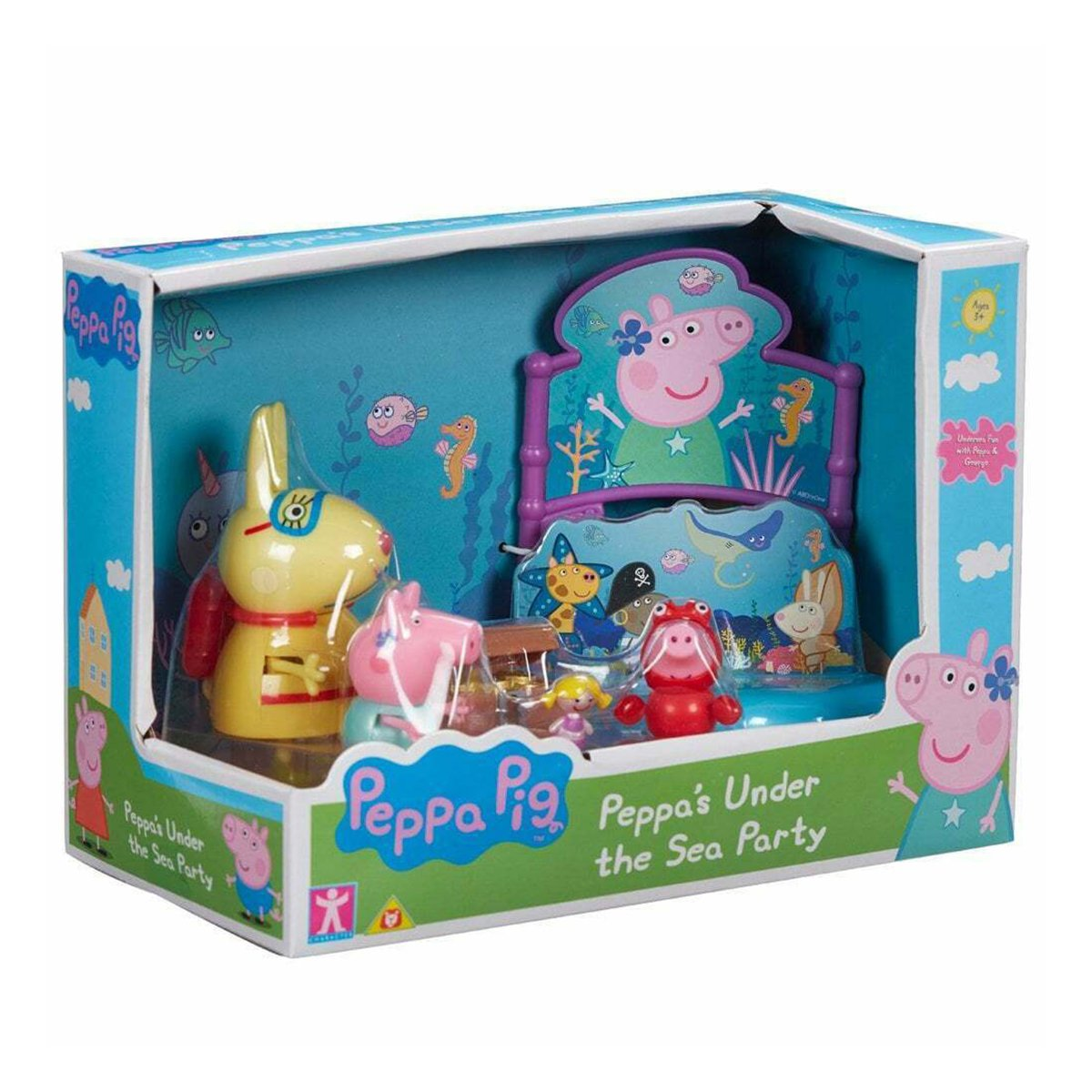 Set figurine Peppa Pig, Under the sea party