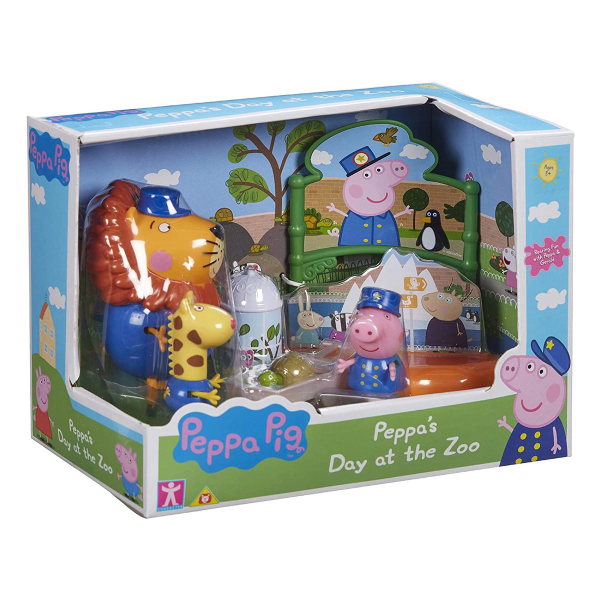 Set figurine Peppa Pig, Zoo