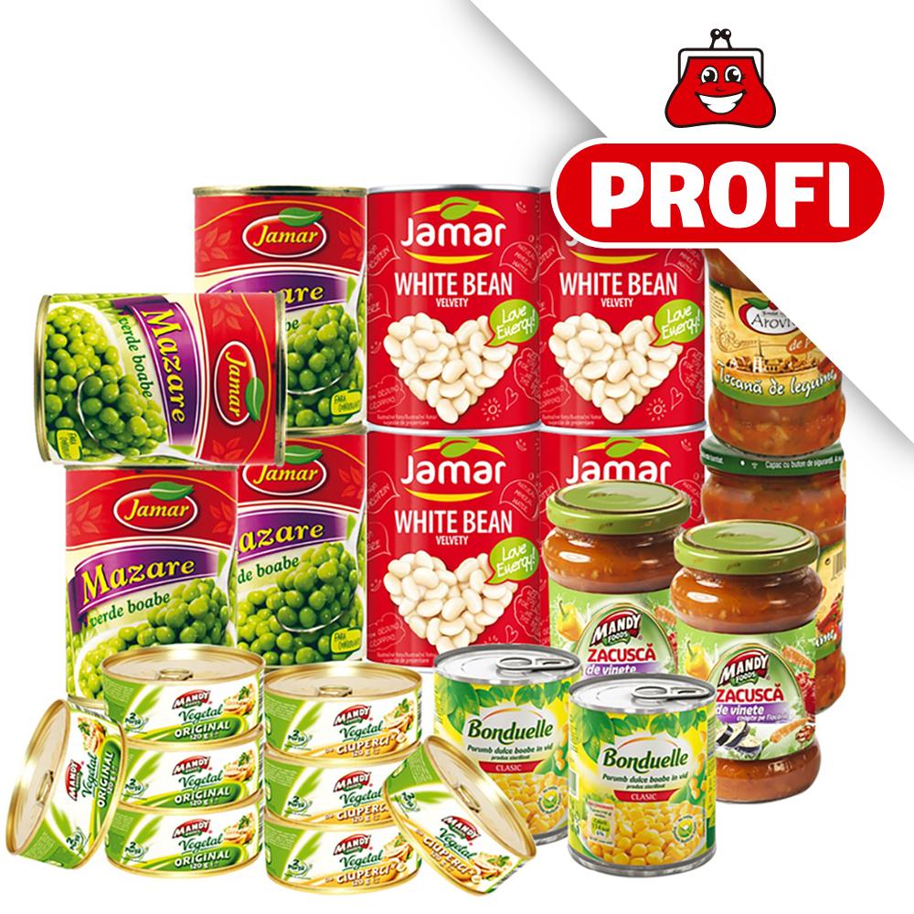 PROFI, Pachet vegetarian
