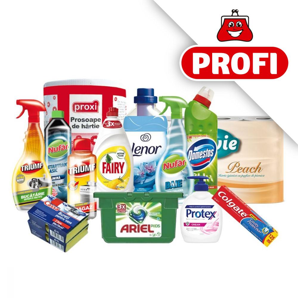 PROFI, Pachet cu produse de igiena si curatenie