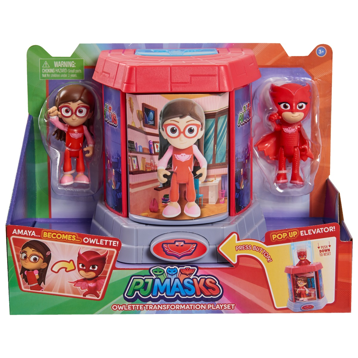 Set Figurine Pj Masks Transforming, Amaya si Owlette 95467