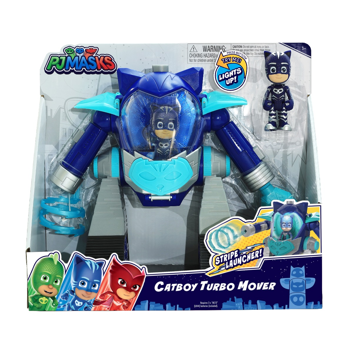 Figurina Pj Masks Turbo Mover, Catboy 95506