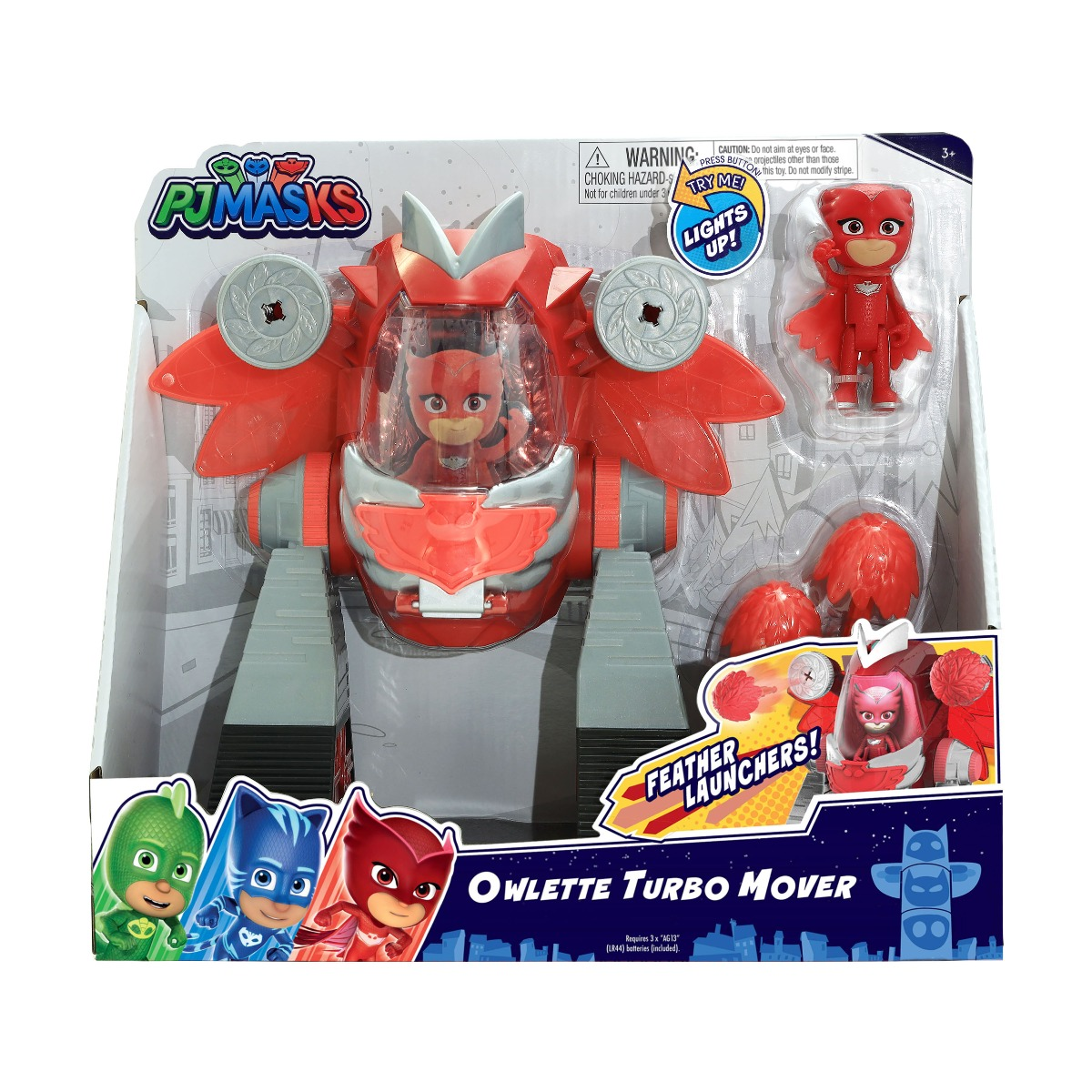 Figurina Pj Masks Turbo Mover, Owlette 95507