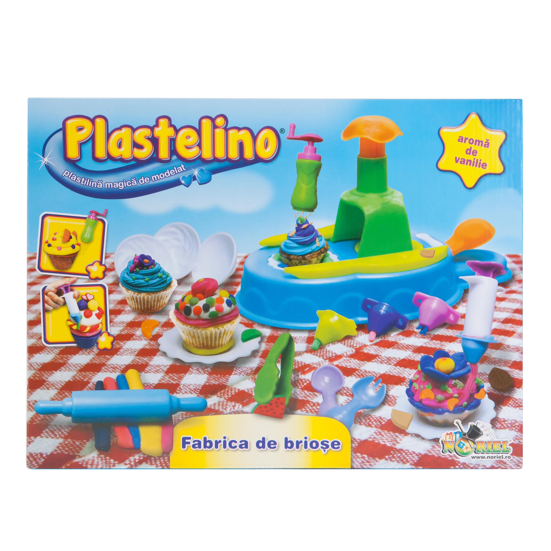 plastelino - fabrica de briose din plastilina