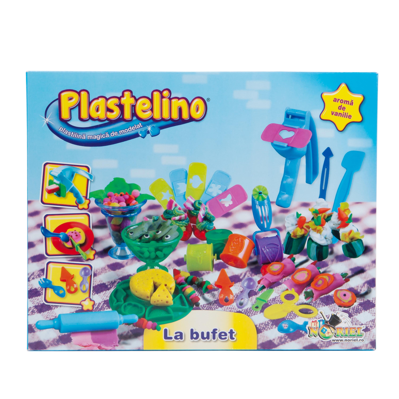 plastelino - la bufet cu plastilina