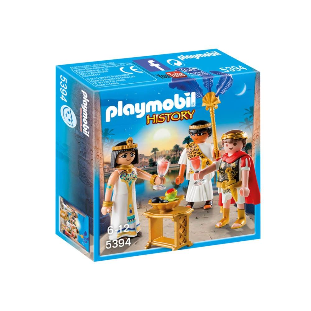 set figurine playmobil history - caesar si cleopatra (5394)