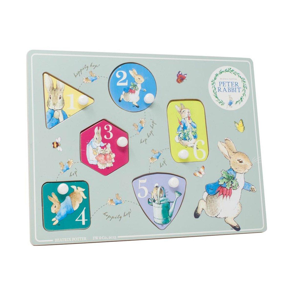 Joc Puzzle Din Lemn Peter Rabbit