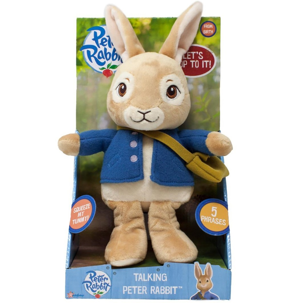 Jucarie de plus interactiva Peter Rabbit, 24 cm
