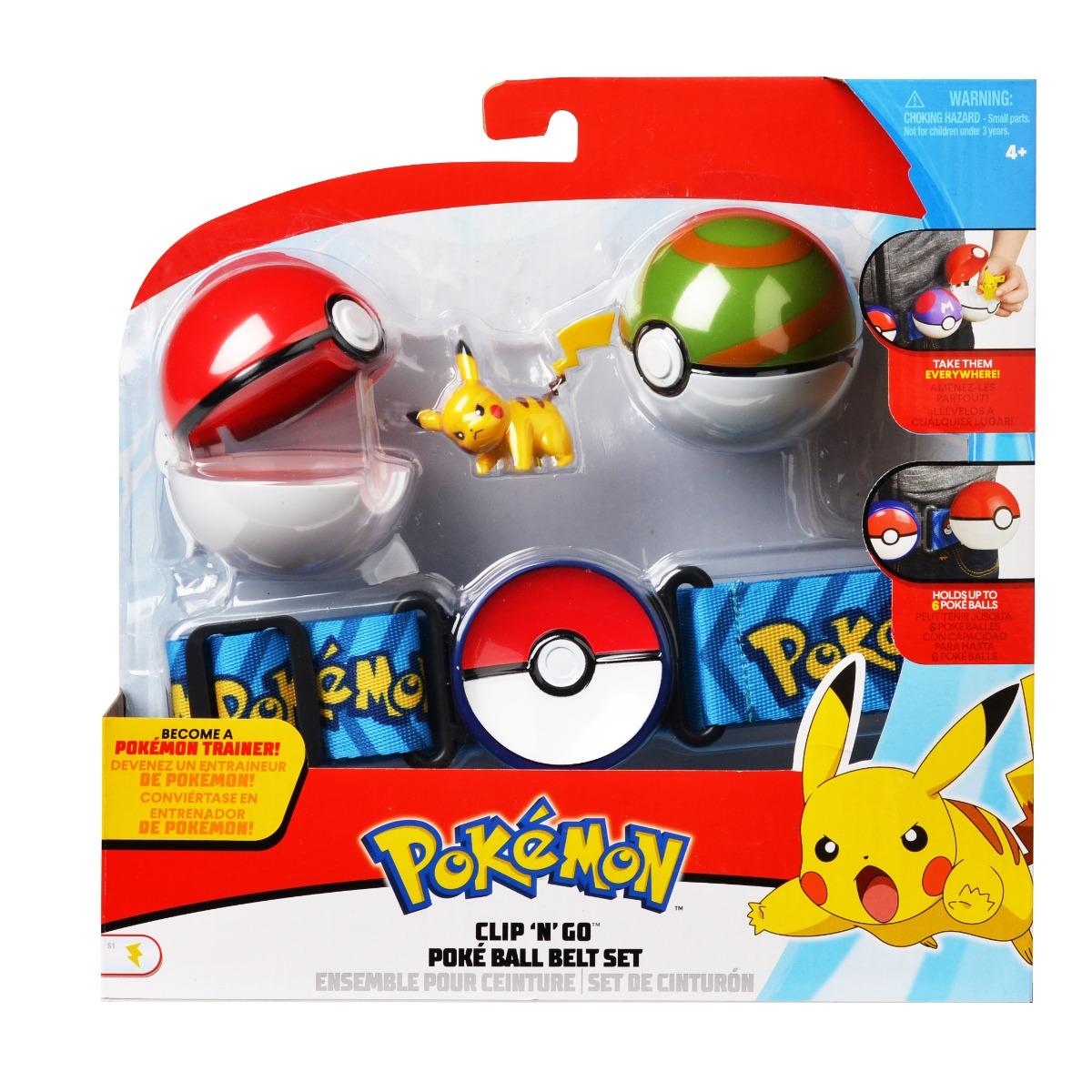 Set curea cu figurina in bile - Pokemon S2 (95281)