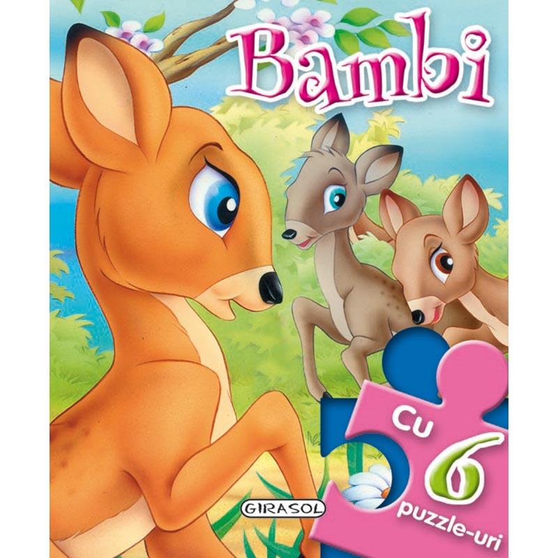 Carte Girasol, Povesti cu puzzle, Bambi