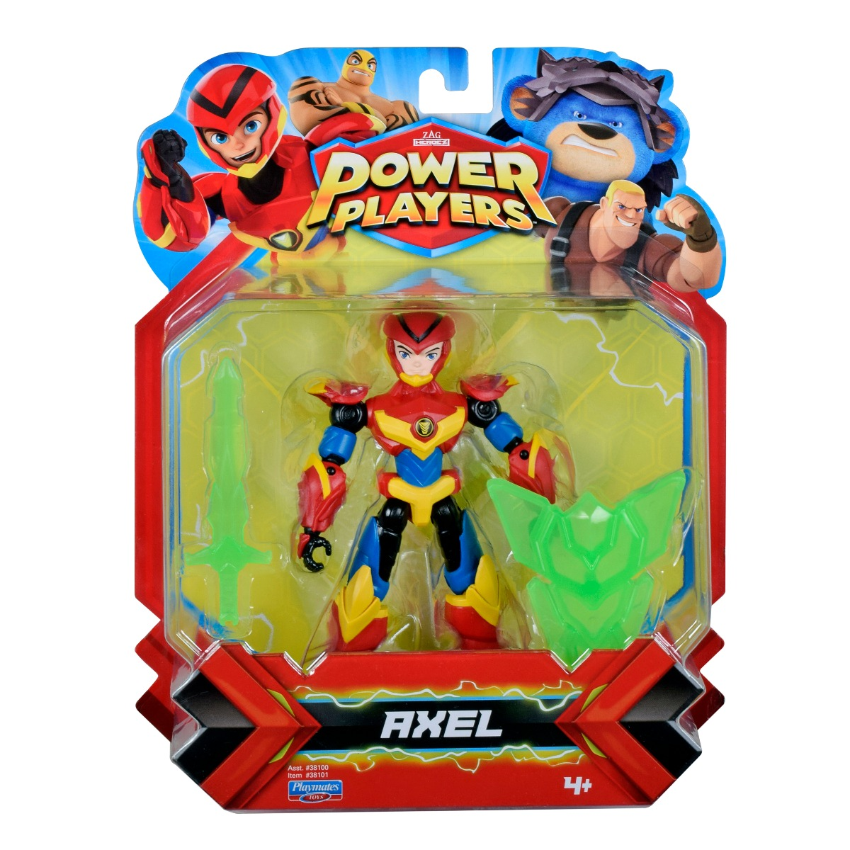 Figurina Power Players, Axel 38101