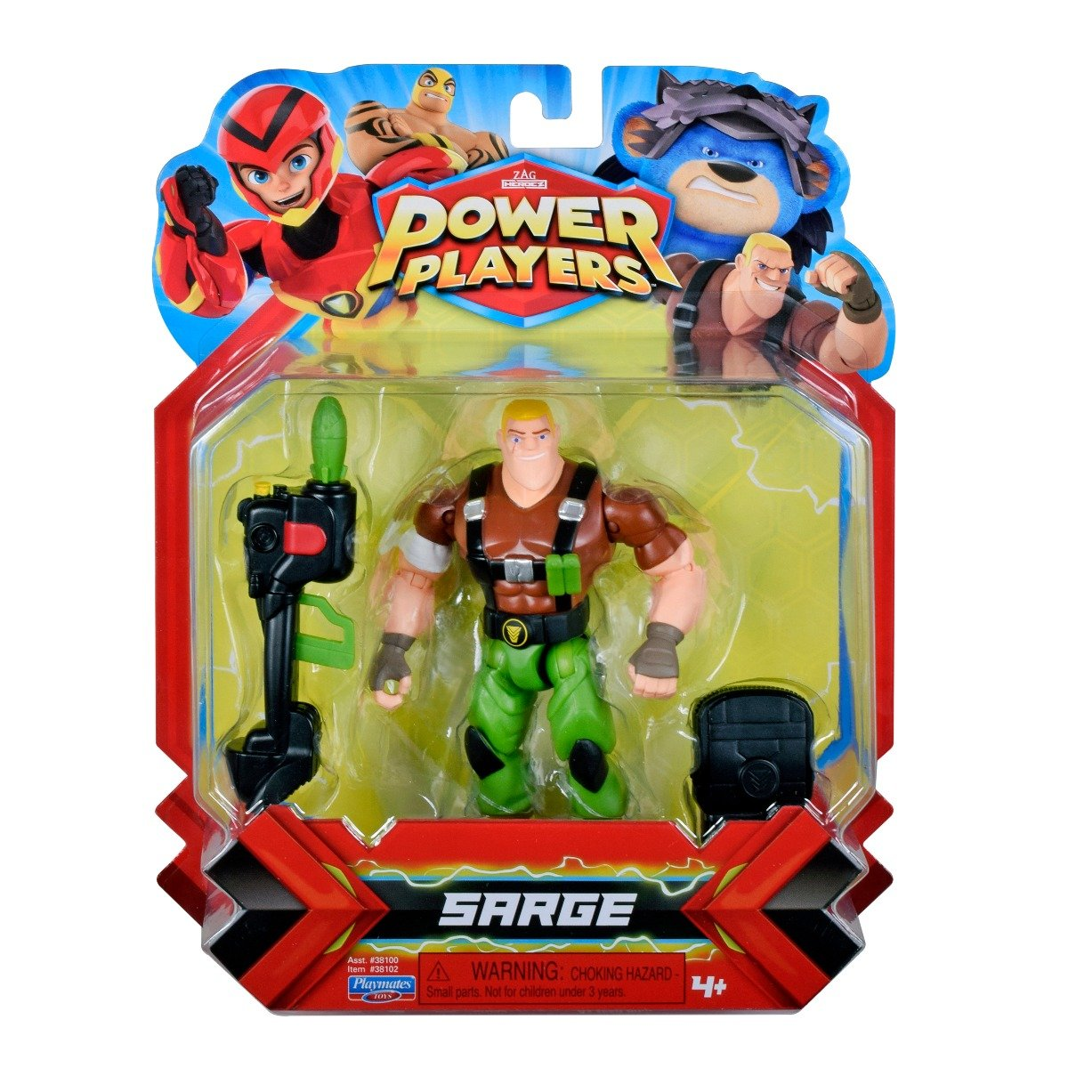 Figurina Power Players, Sarge 38102