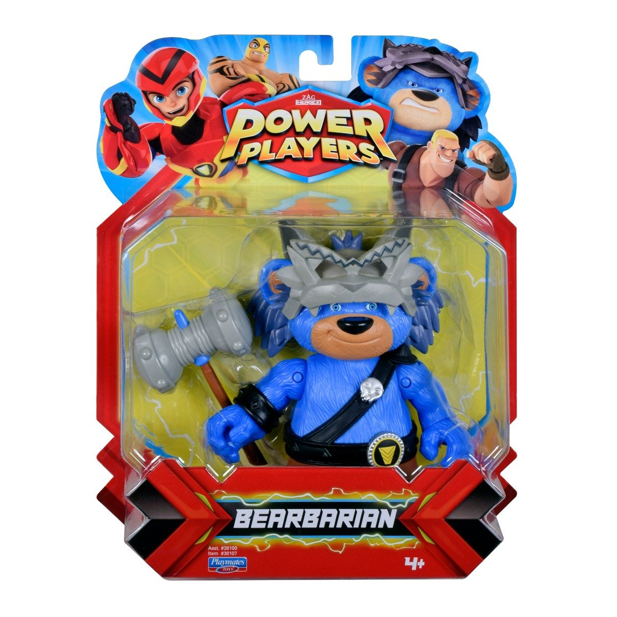 Figurina Power Players, Bearbarian 38107