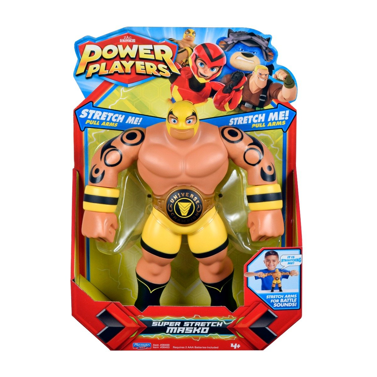 Figurina interactiva Power Players Super Sounds, Masko 38403