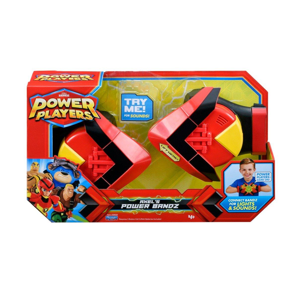 Mansete Power Players, Axels Power Bandz