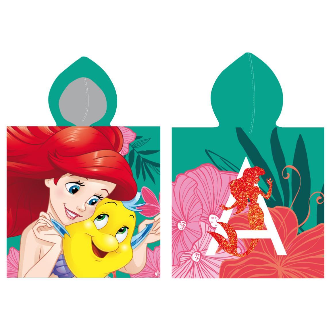 Prosop de plaja cu imprimeu total, Disney Princess imagine