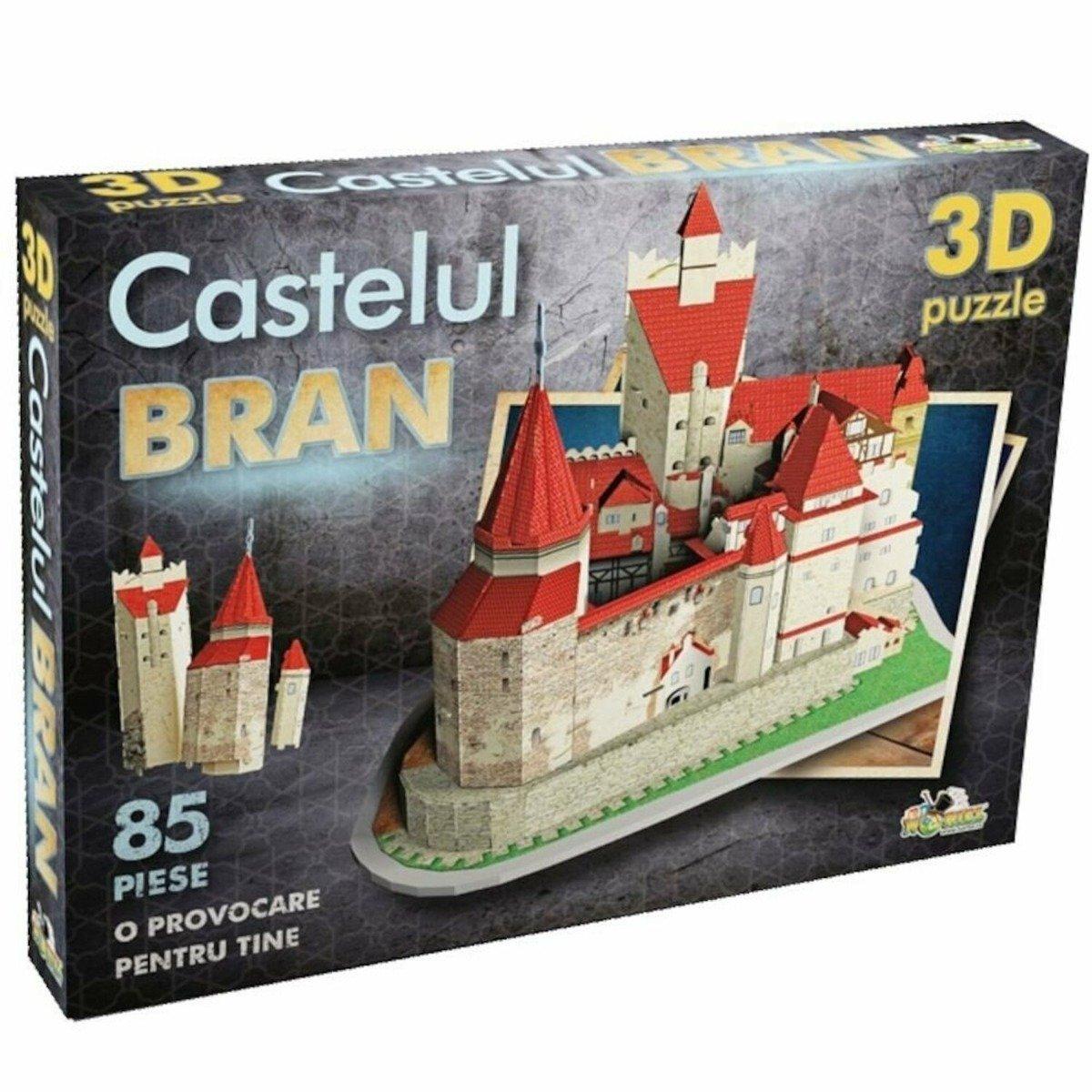 Puzzle Noriel 3D - Castelul Bran imagine 2021