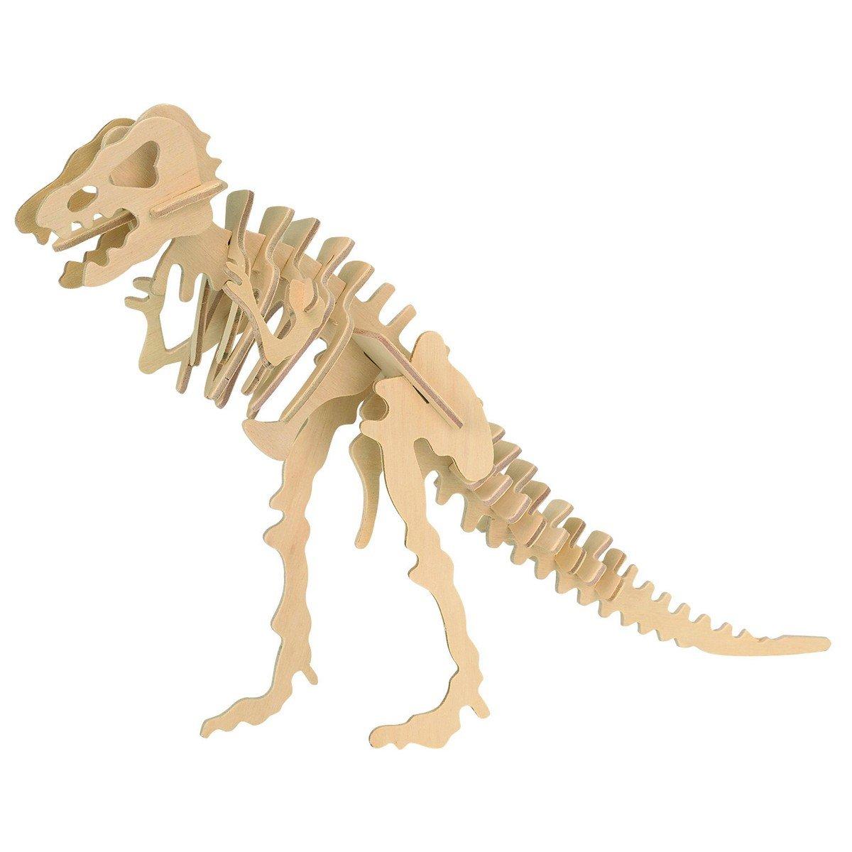 Puzzle din lemn 3D cu Dinozauri Eicchorn, Tyranannosaurus Rex imagine